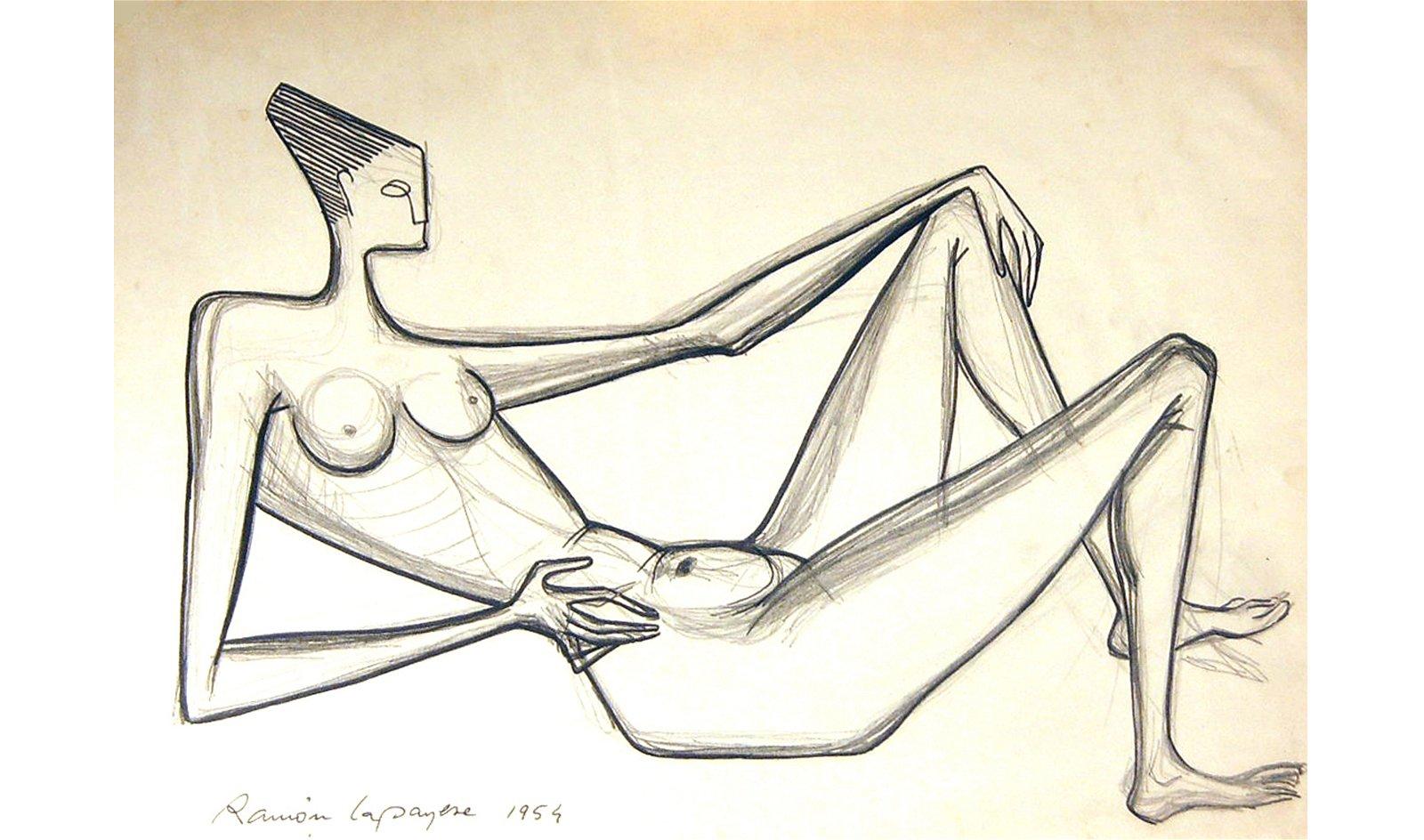 Cuadro Desnudo 2 Decorativo