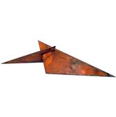 Escultura Triangular Maclada A-cero
