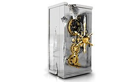Cabinet Caja Fuerte Millonaire Silver