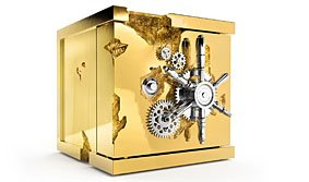 Caja Fuerte Millonaire Gold pequeña