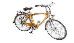 Bicicleta de madera Vintage Eindhoven