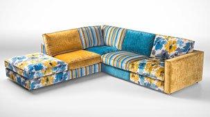 Sofa 3 plazas vintage Houston