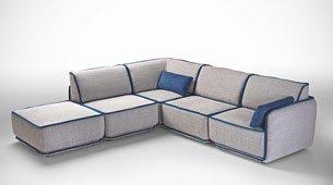 Sofa 3 plazas moderno Richmond