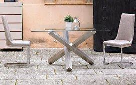 Mesa de comedor cuadrada Moderna Oise