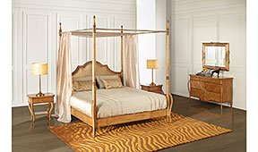Dormitorio vintage Liberty
