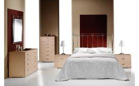 Dormitorio forja Antares