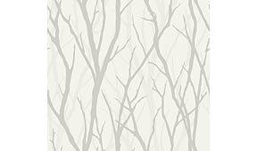 Rollo de papel pintado ramas claras