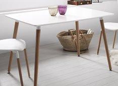 Mesa de comedor moderna Daw