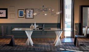 Mesa de comedor moderna Plisset