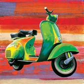 Cuadro canvas pop scooter I