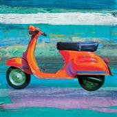Cuadro canvas pop scooter II