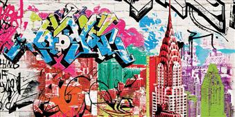 Cuadro canvas pop manhattan