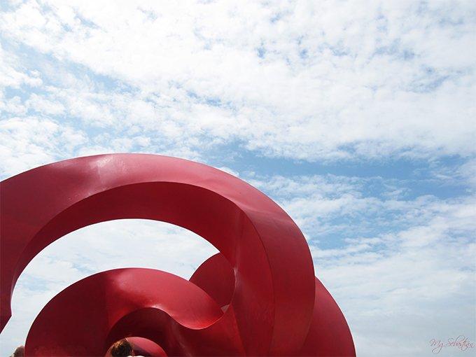 Fotografía Cádiz en rojo