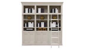 Librería biblioteca vintage Karedo