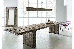 Mesa de comedor Oregón madera reciclada