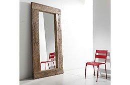Espejo vestidor Oregón madera centenaria