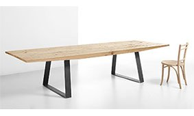 Mesa de comedor Fly madera centenaria