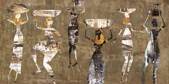 Cuadro canvas african dance