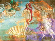 Cuadro canvas botticelli venus dos punto cero