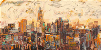 Cuadro canvas mattino a new york