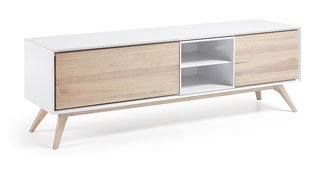 Mueble de Tv con puertas nordico Quatre