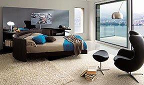 Cama giratoria Bairon Speed LCD con espejo tv