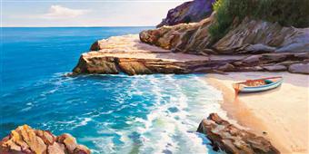 Cuadro canvas pomeriggio mediterraneo