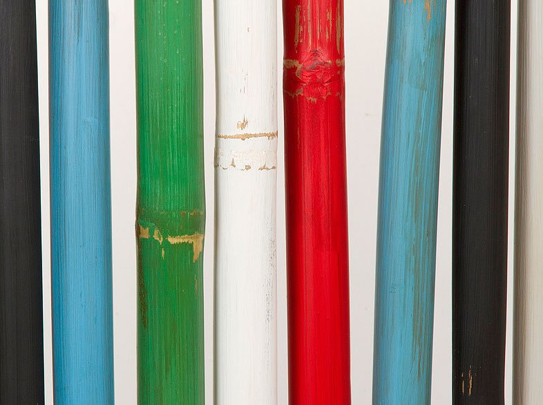 Biombo bambú colors