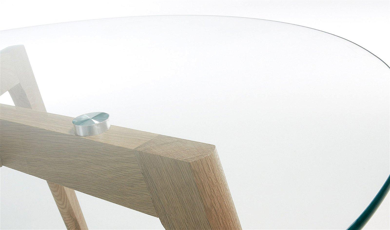 Mesa de centro de cristal Tailym