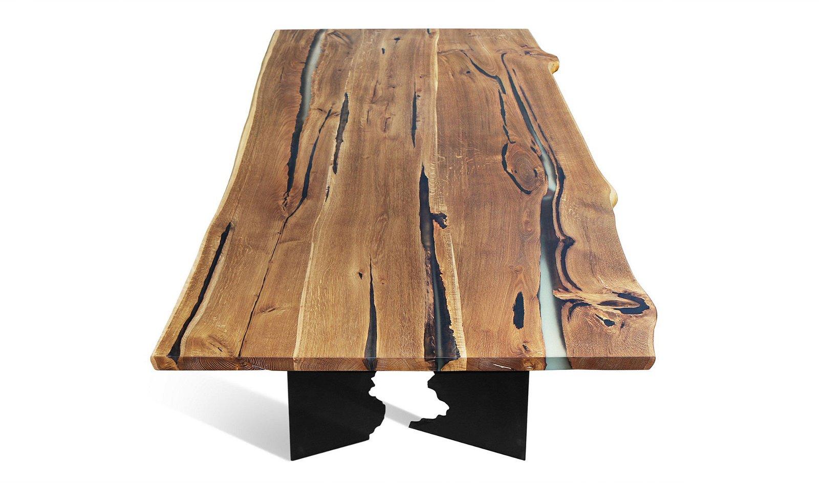 Mesa de comedor Roble natural Heorot