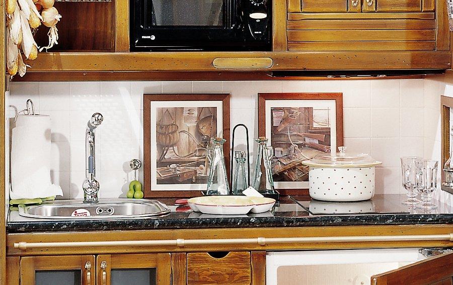 Cocina rustica Hamptons