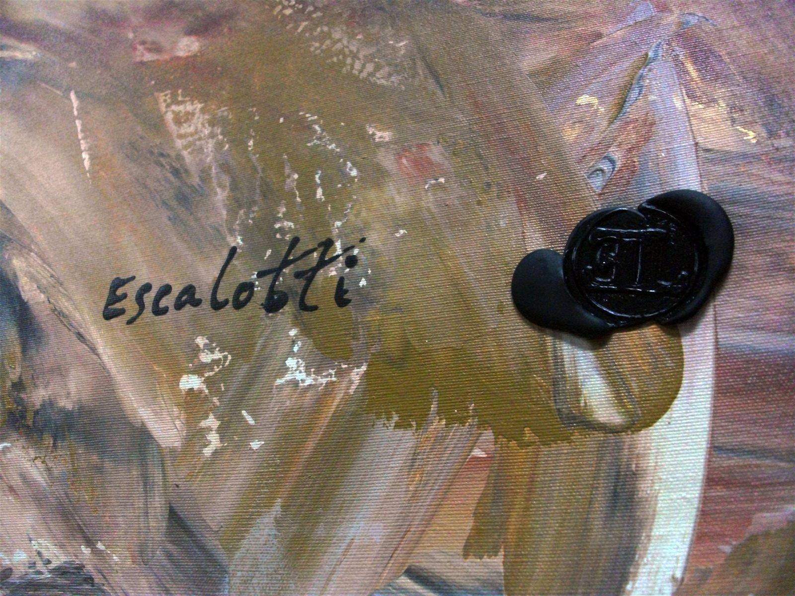 Cuadro gran formato Liberati de Leandro Escalotti