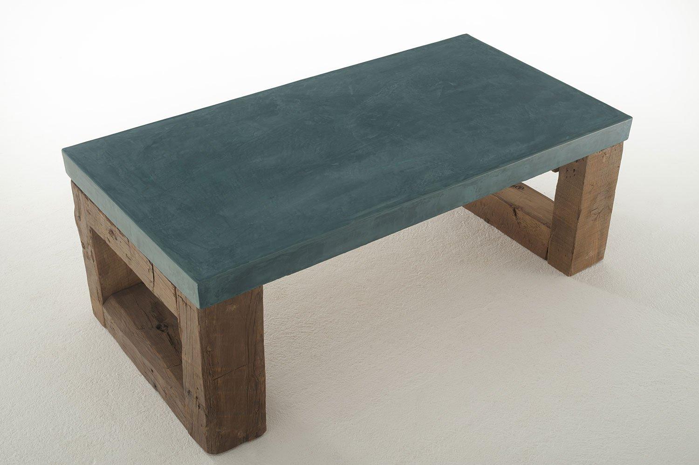 Mesa de Centro Vintage tapa gruesa Galena