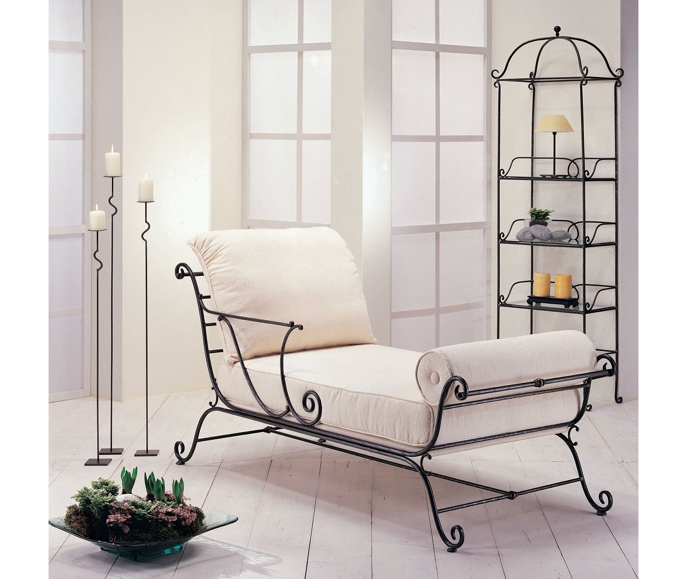 Chaise longue forja Morfeo
