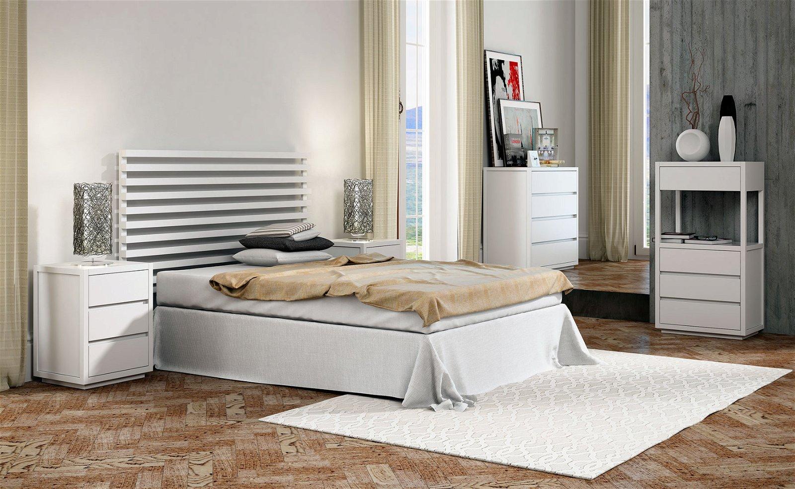 Dormitorio Fasano blanco