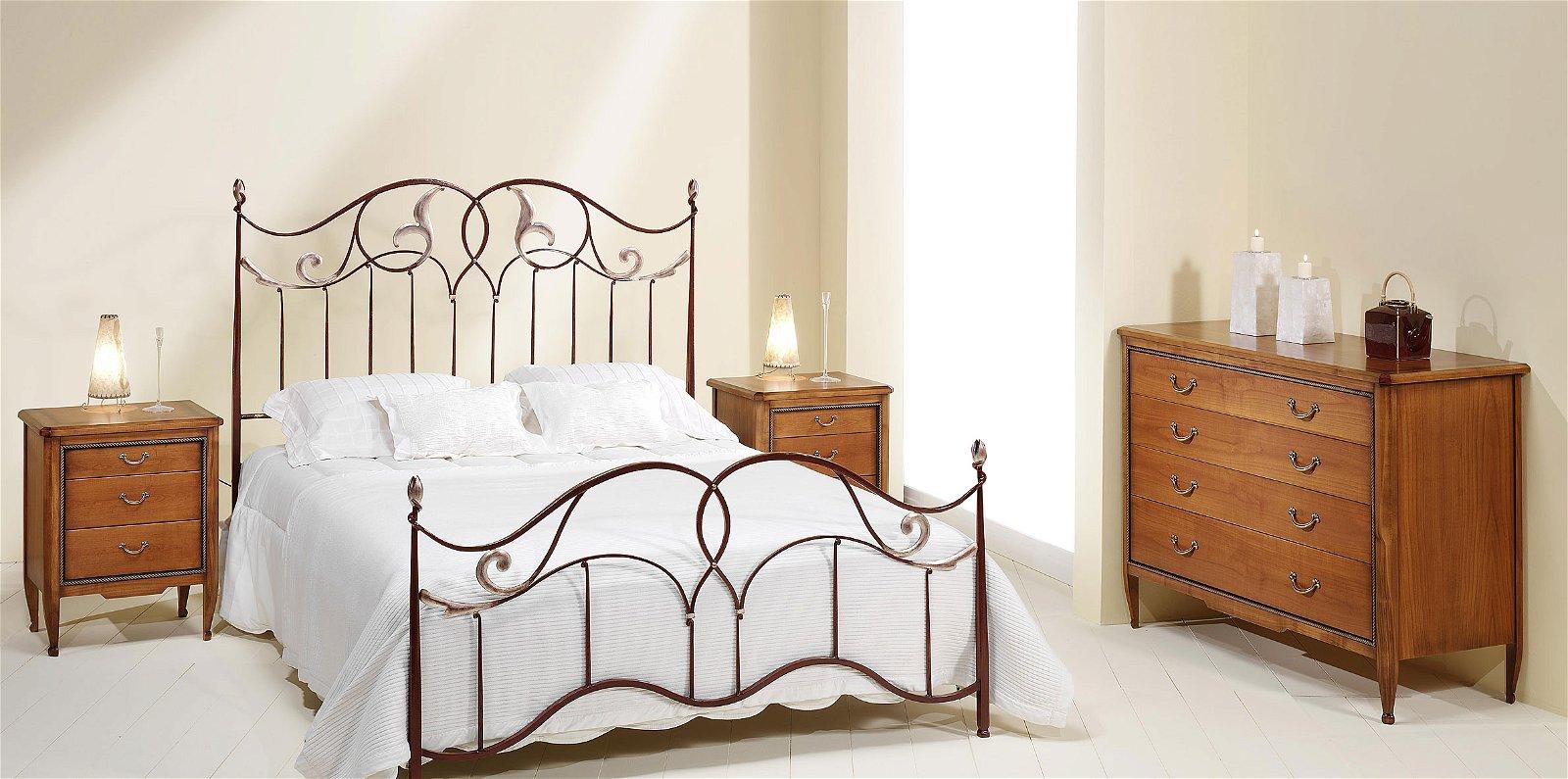 Dormitorio forja Caroli
