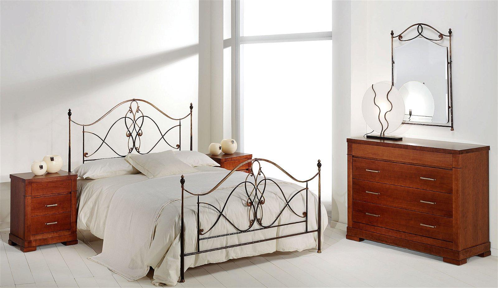 Dormitorio forja Floria