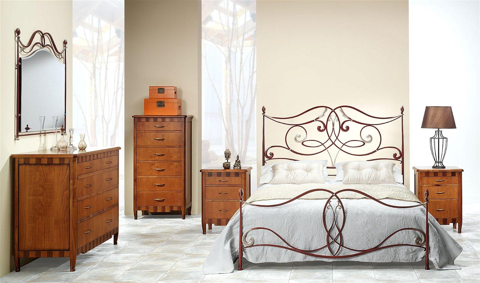 Dormitorio forja Iria