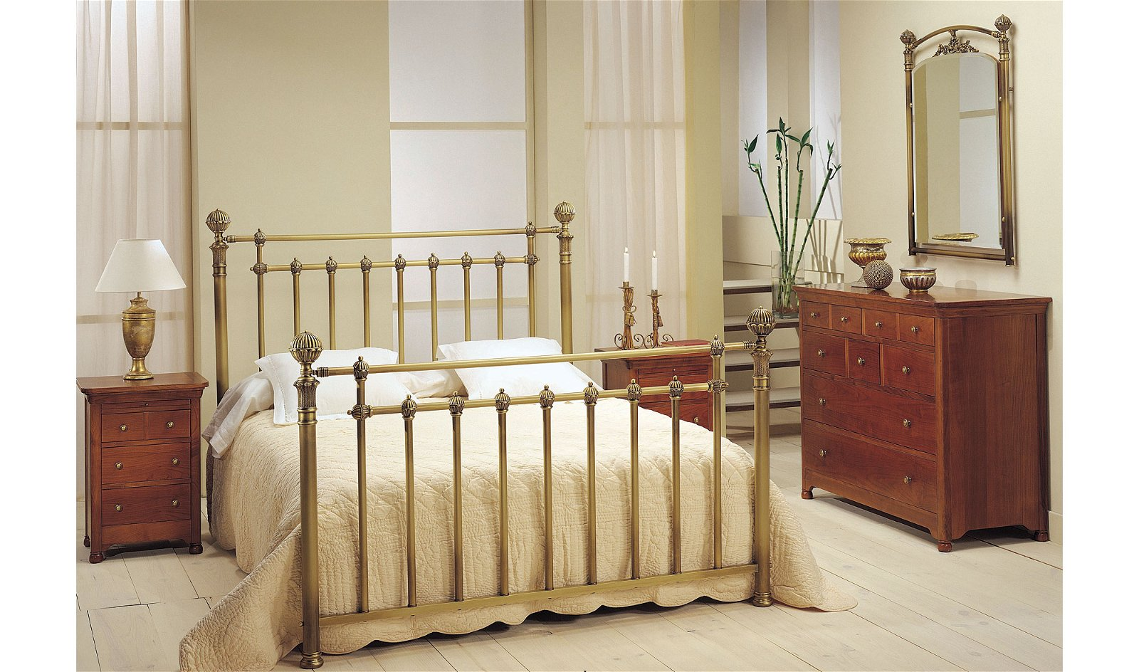 Dormitorio forja Susana