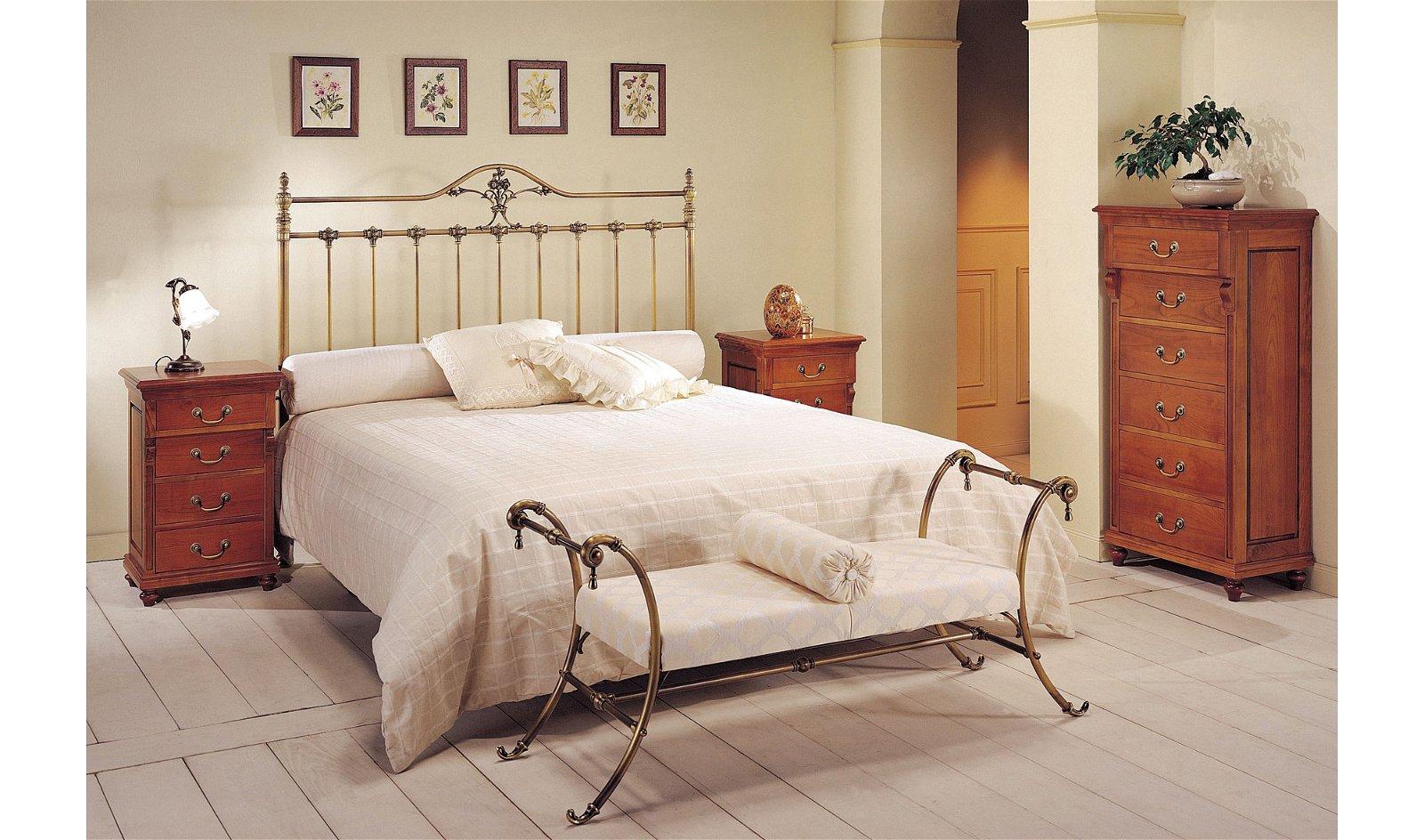 Dormitorio forja Viridiana