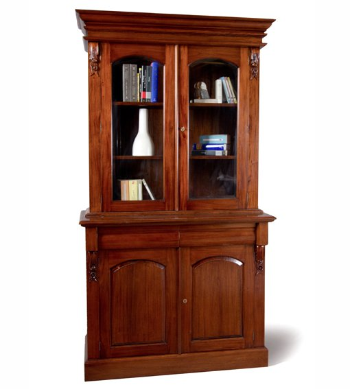 Librero 2 puertas Clásico Victoriano