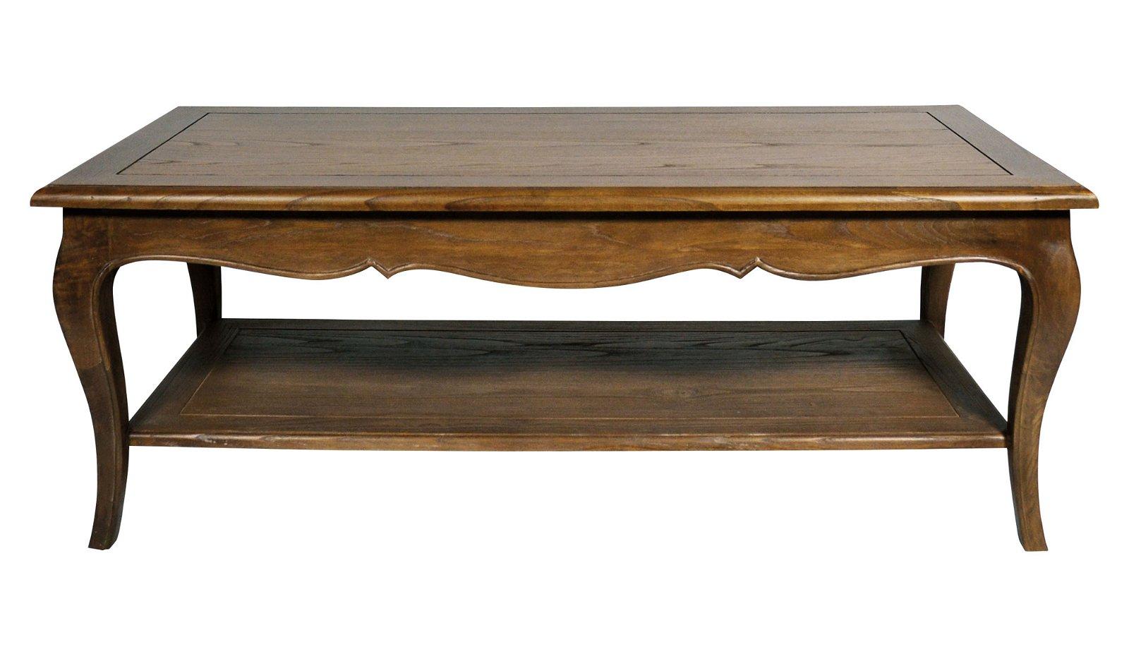Mesa de centro cuadrada vintage Metaire