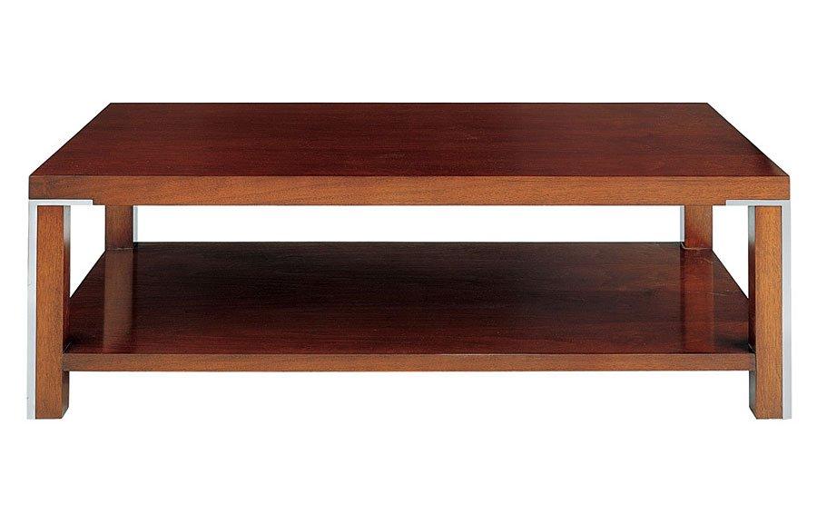 Mesa de centro moderna de madera