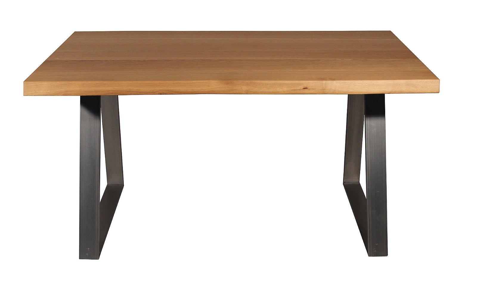 Mesa de comedor 150 madera maciza roble Juli