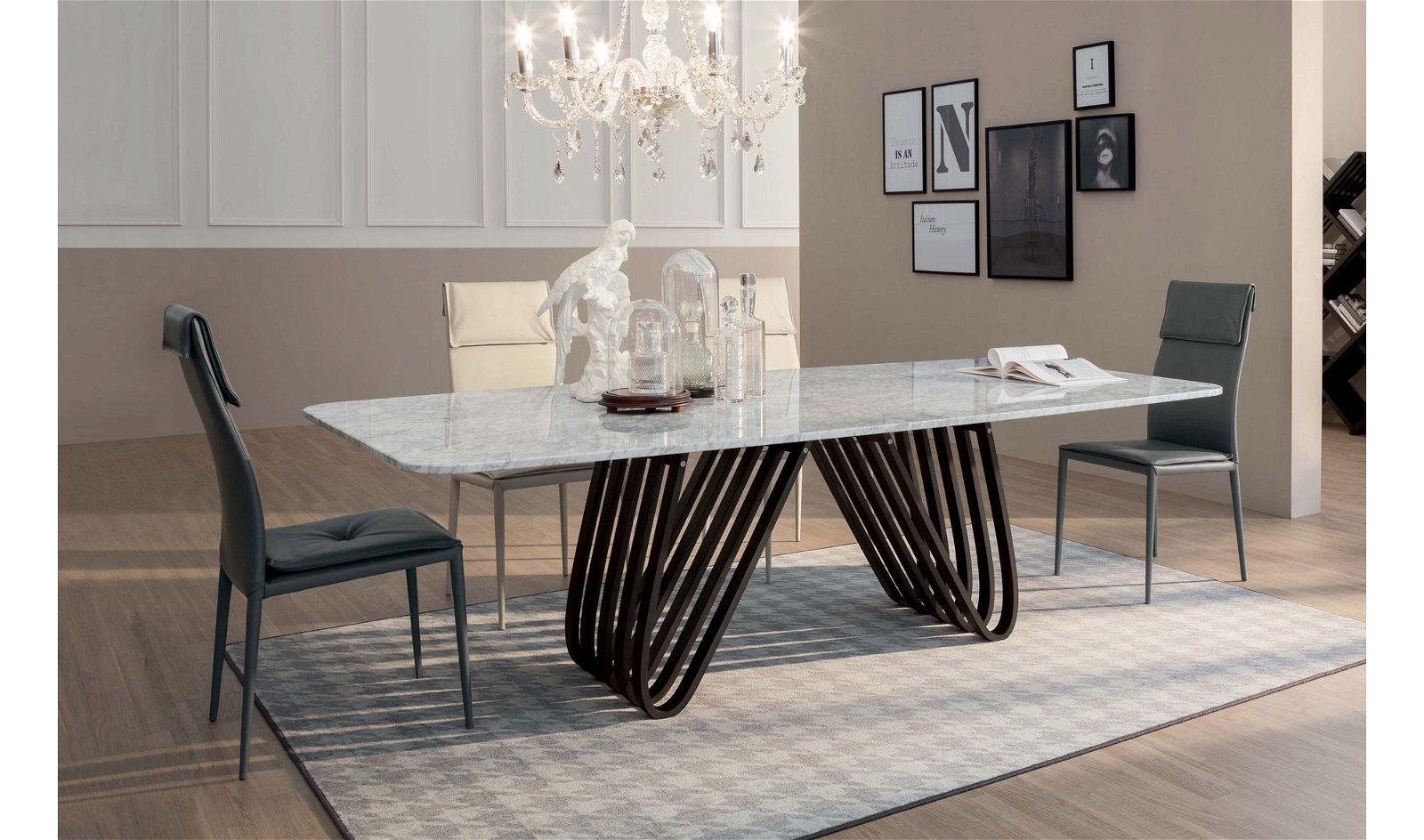 Mesa de comedor moderna Arpa