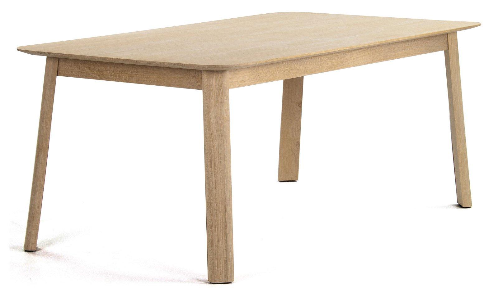 Mesa de comedor nórdica roble