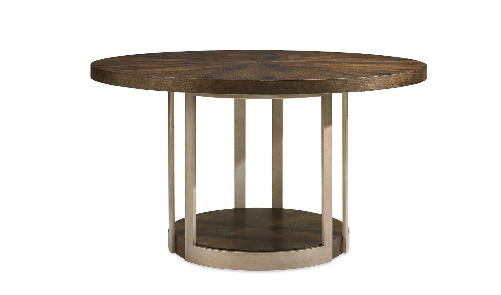 Mesa de comedor redonda Gather Artisan