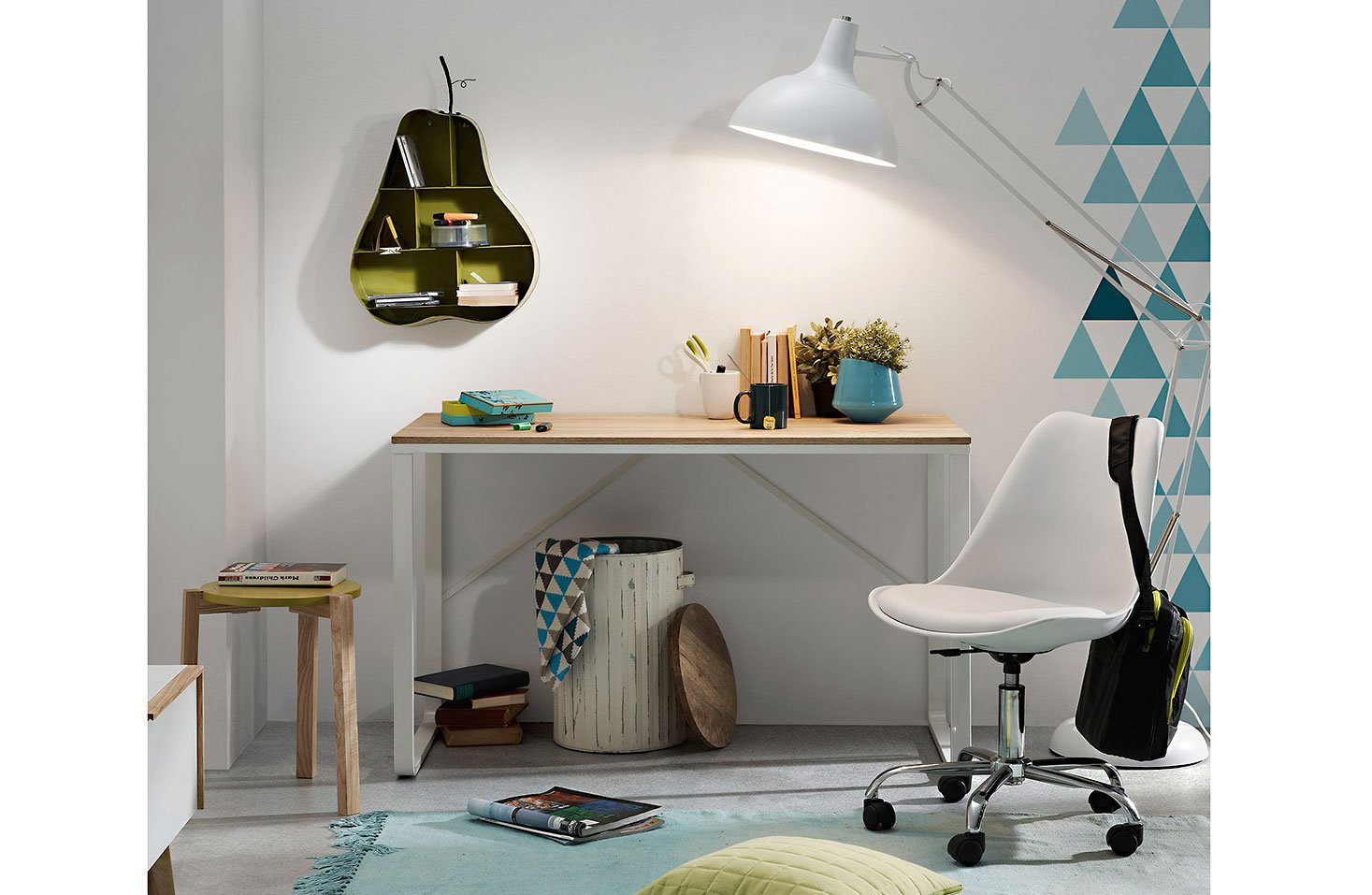 Mesa de escritorio moderno Talbot