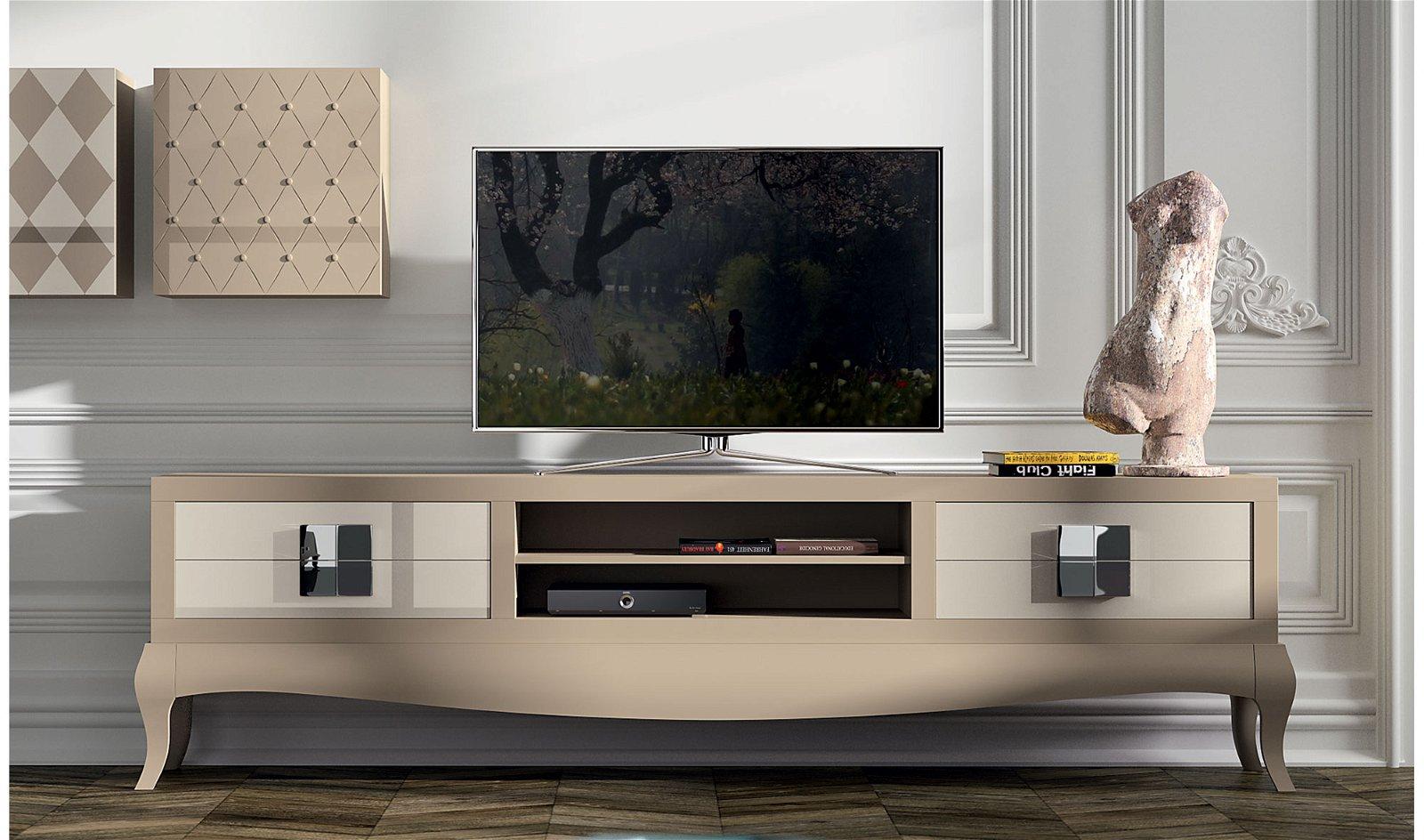 Mueble tv moderno quantum Plain