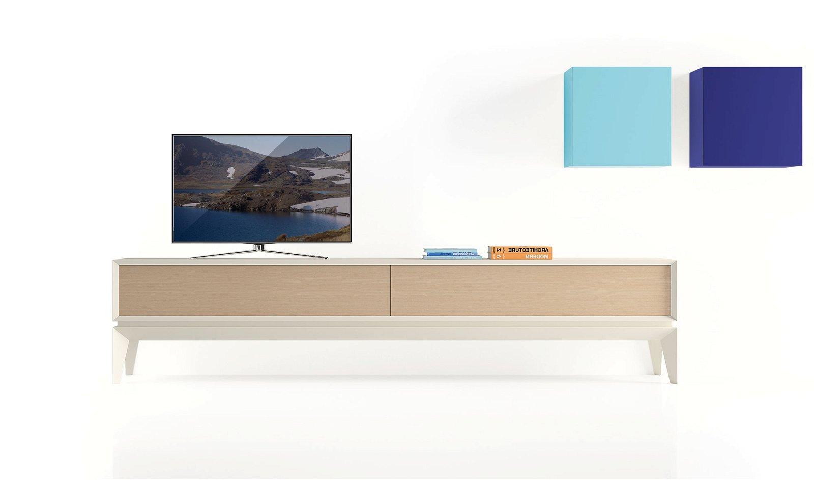 Mueble tv moderno triangle Soft